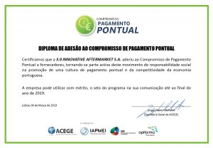 CERTIFICADO COMPROMISSO DE PAGAMENTO PONTUAL